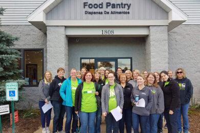 Food Pantry workers