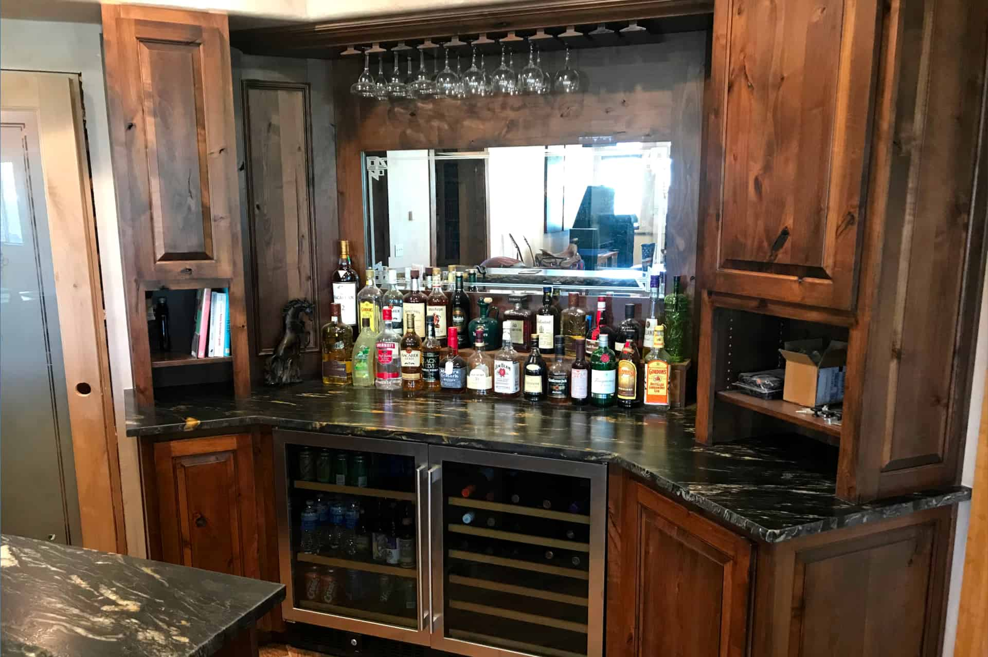Wet Bar, Bars by Mark Stephens, The Wooden Wish, Parker, Colorado