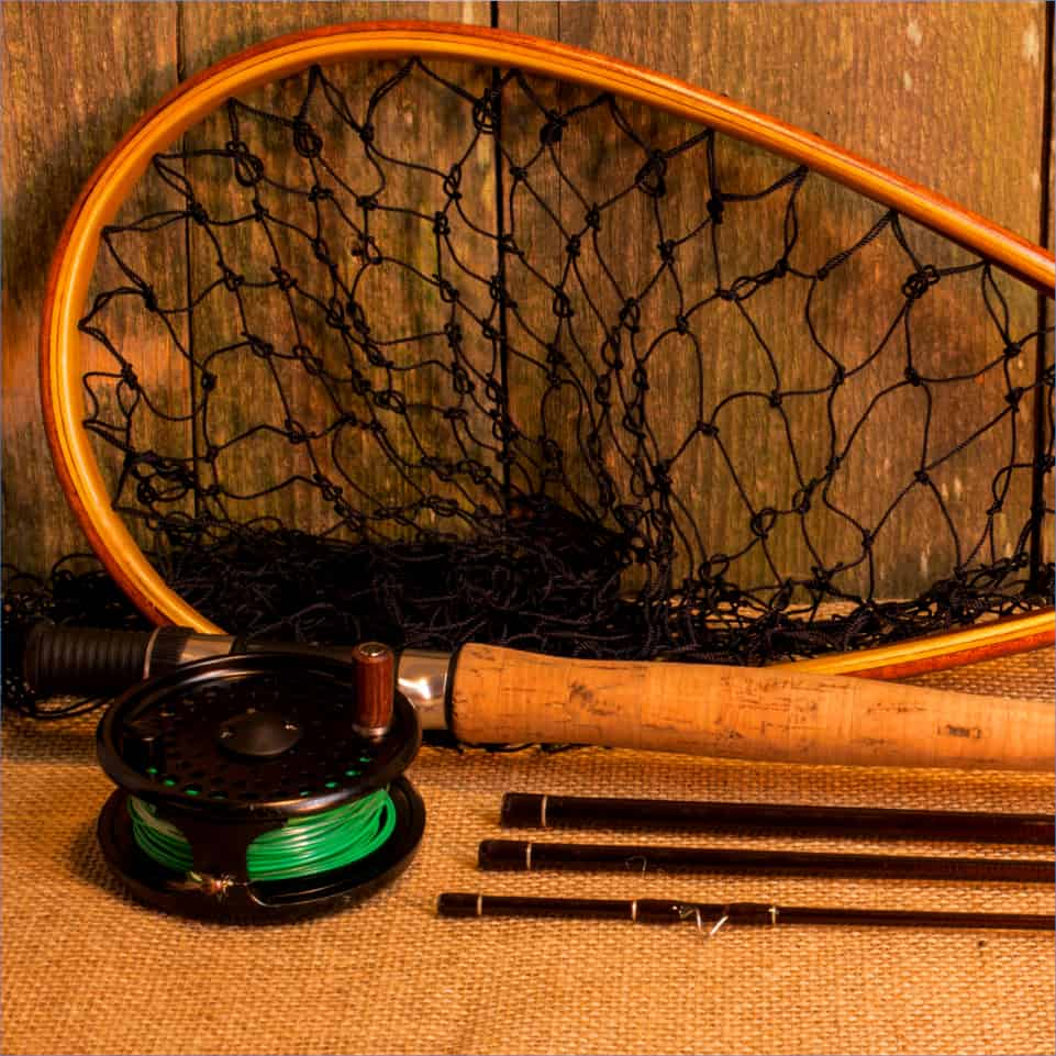 Custom Fishing Accessories - handcrafted landing nets
