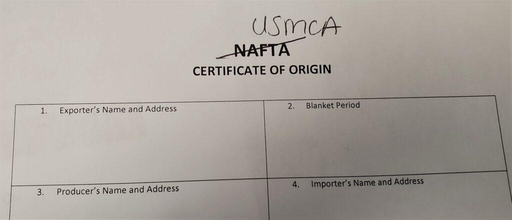 NAFTA USMCA