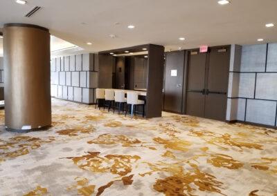 Marina Tower II lobby renovation