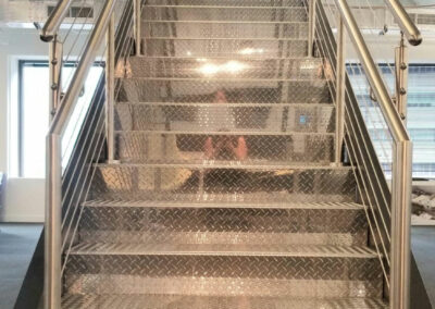 Stantec headquarters staircase