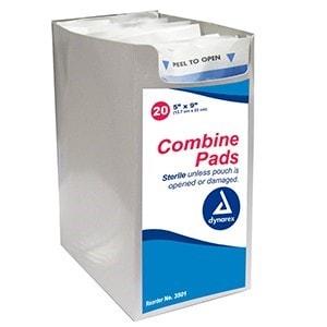 Combine Pads - Sterile & Non-Sterile