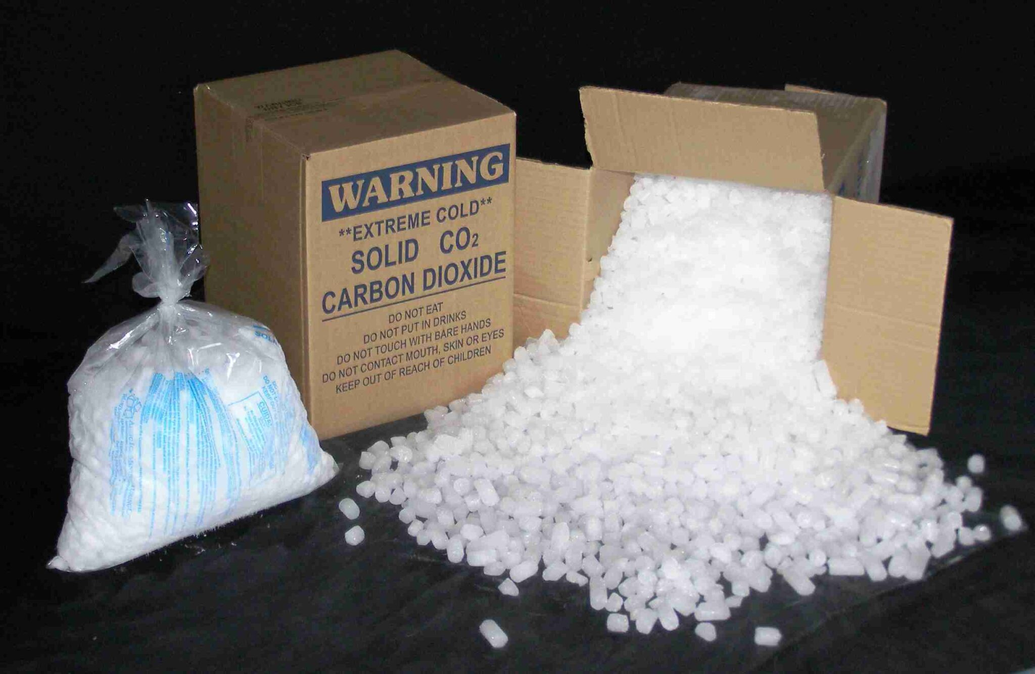 Dry Ice Blocks and Pellets Delivery