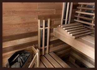 Traditional & Infrared Indoor Combination Saunas