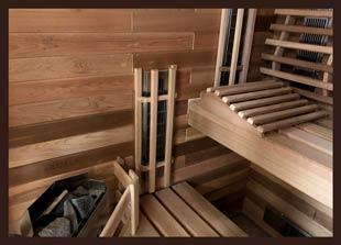 Traditional & Infrared Indoor Combination Saunas