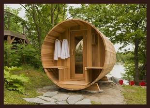 Traditional Outdoor Saunas