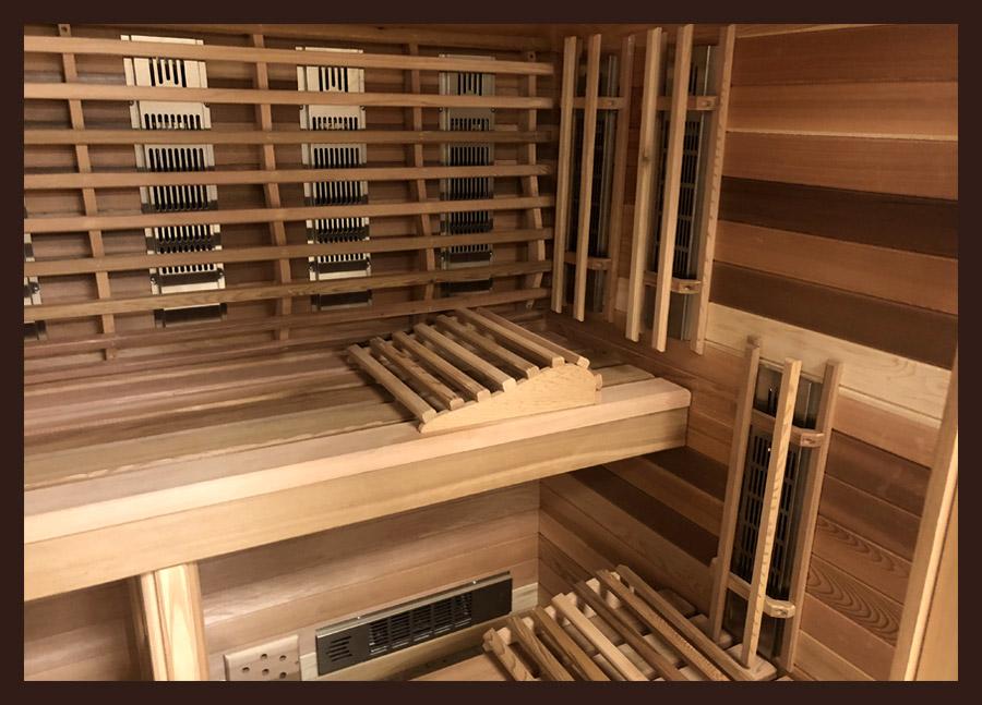 Infrared Indoor Saunas