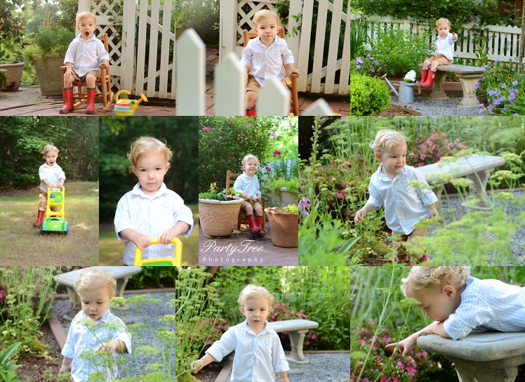 Children's Garden Mini Session, Autrey Mill Nature Preserve, Photography by Shannon Porter of Party Tree Photography