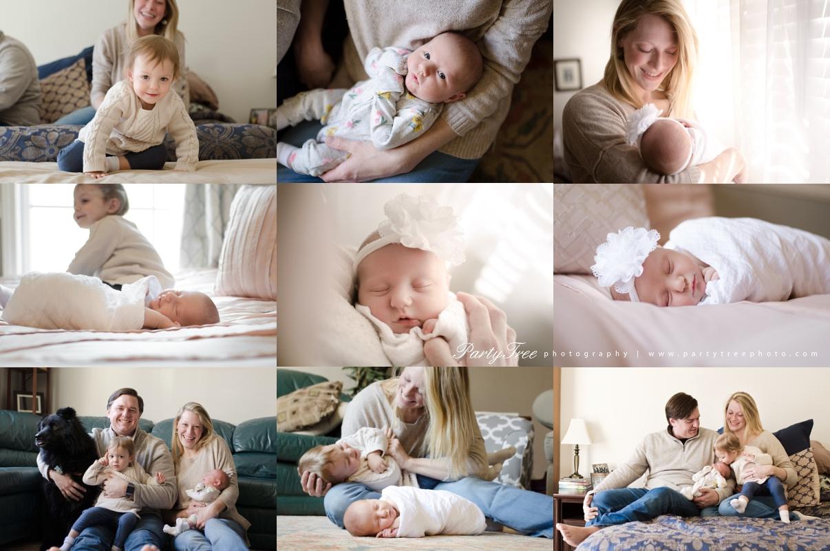 Johns Creek GA Alpharetta GA Cumming GA Lifestyle Newborn Photographer Party Tree Photography