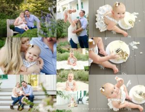 Roswell Family Photographer Party Tree Photography Barrington Hall 2019 Baby Milestone Session