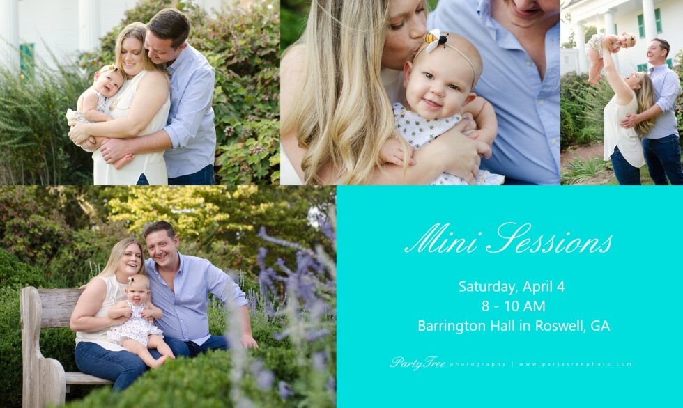 Outdoor Familly Portrait Barrington Hall Roswell Ga Family photo Session Party Tree Photography 2020