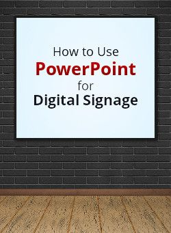 Inexpensive Digital Signage with PowerPoint 2010