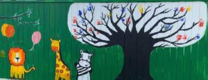 Wall mural - family tree