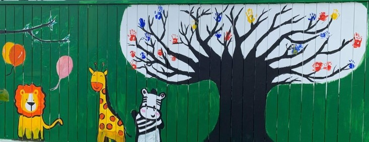 Wall mural - family tree