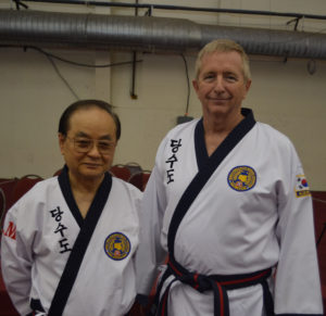 GM KW Choung and GM James Saffold