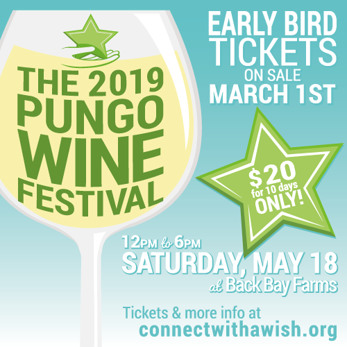 2019 Pungo Wine Festival is May 18th