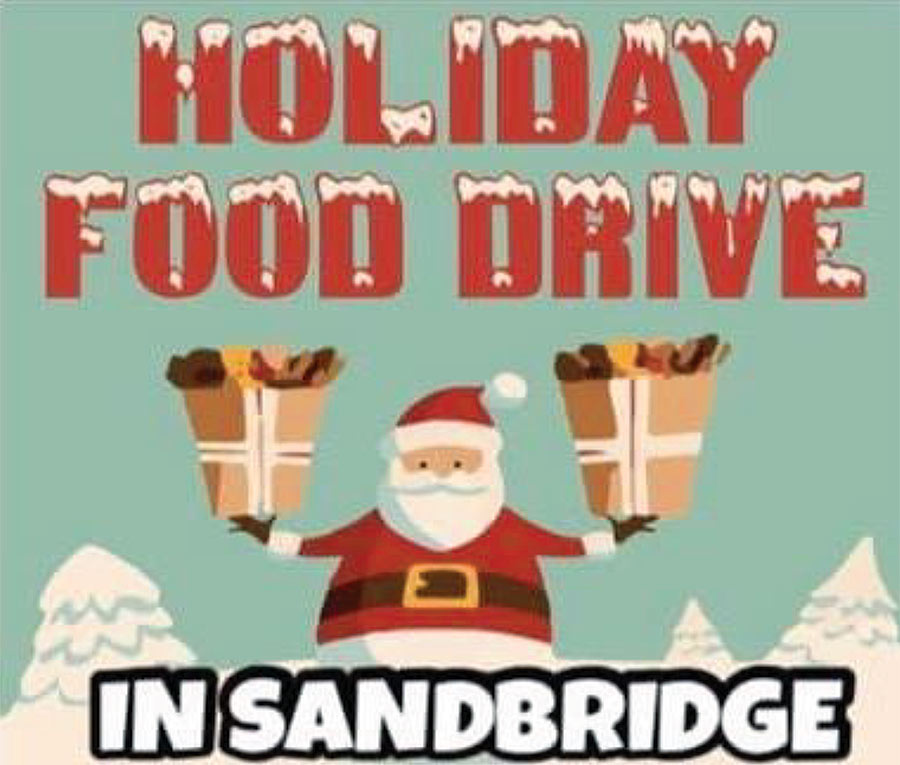 Holiday Food Drive in Sandbridge – Now through Dec. 15th