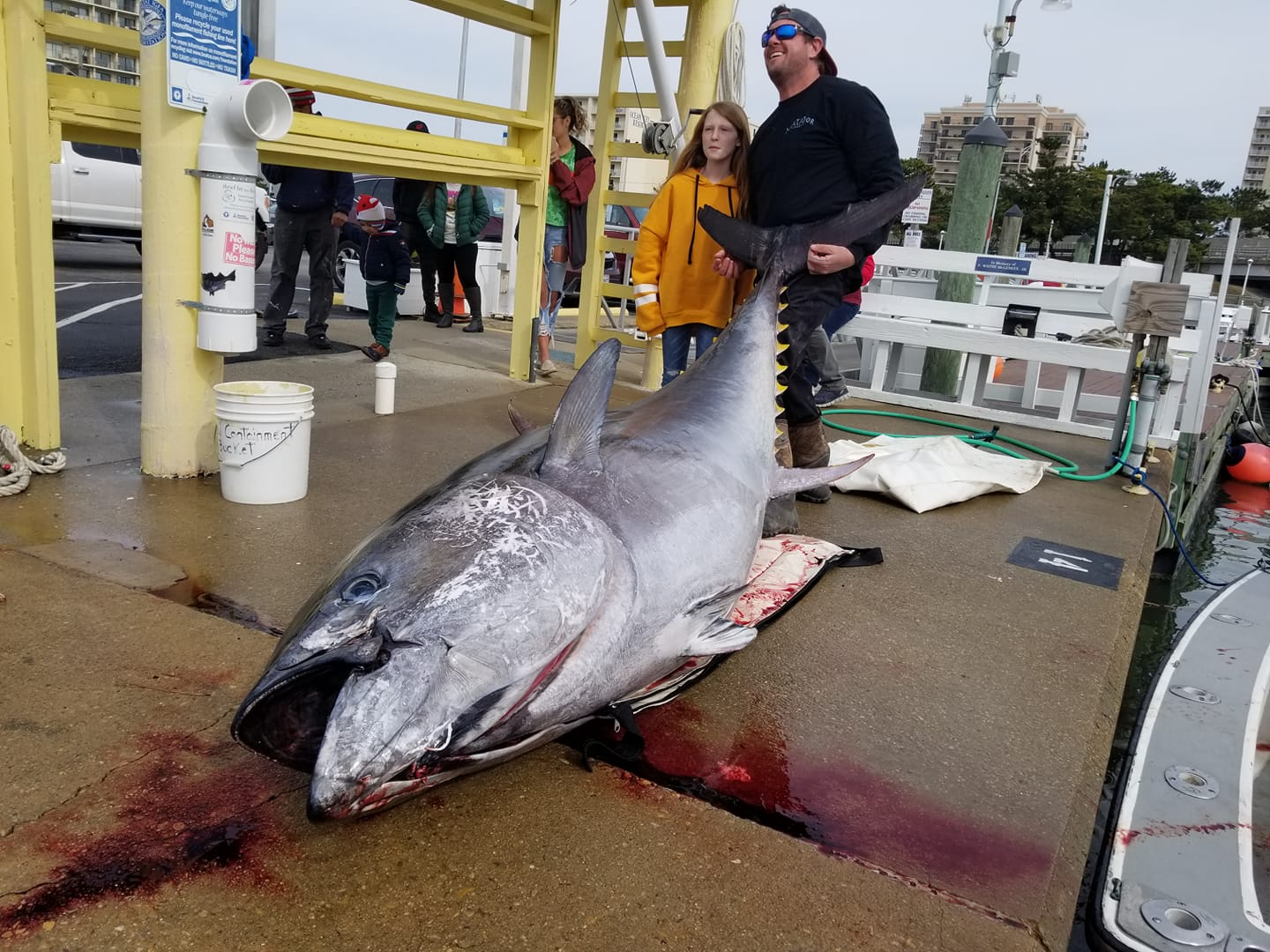 Jake Hiles Reels in a Virginia State Record Bluefin