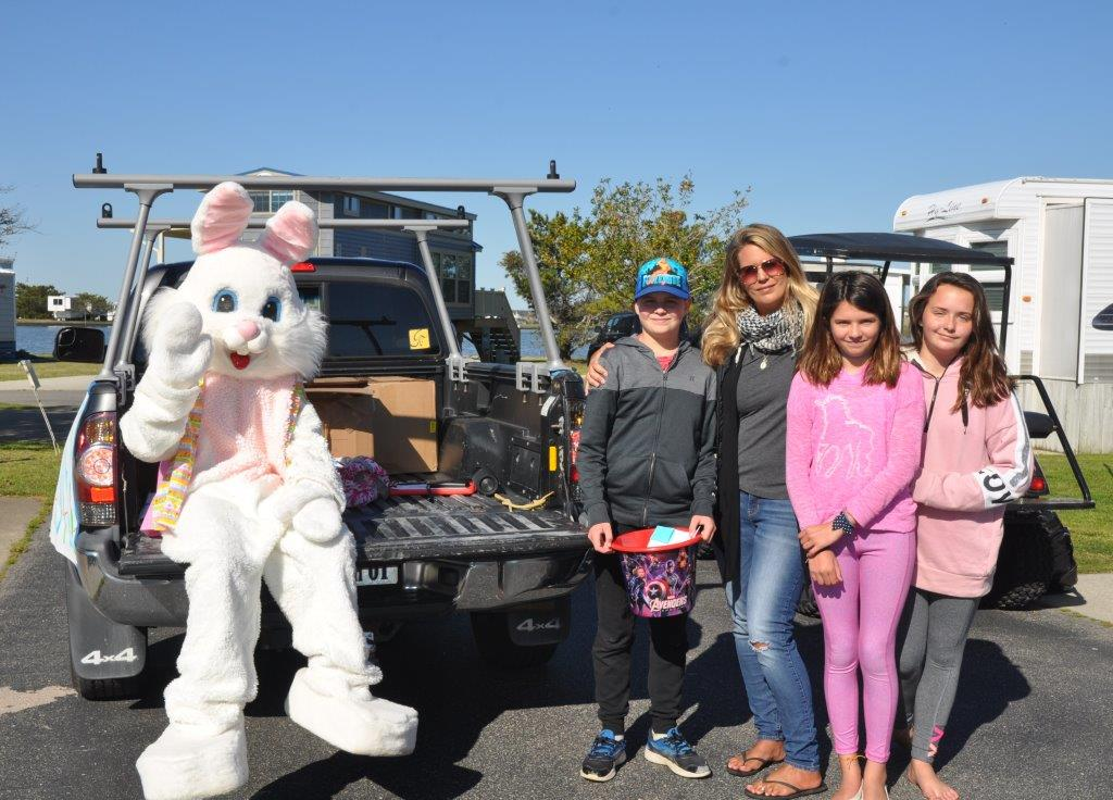 Easter Bunny Visits Sandbridge – April 12, 2020