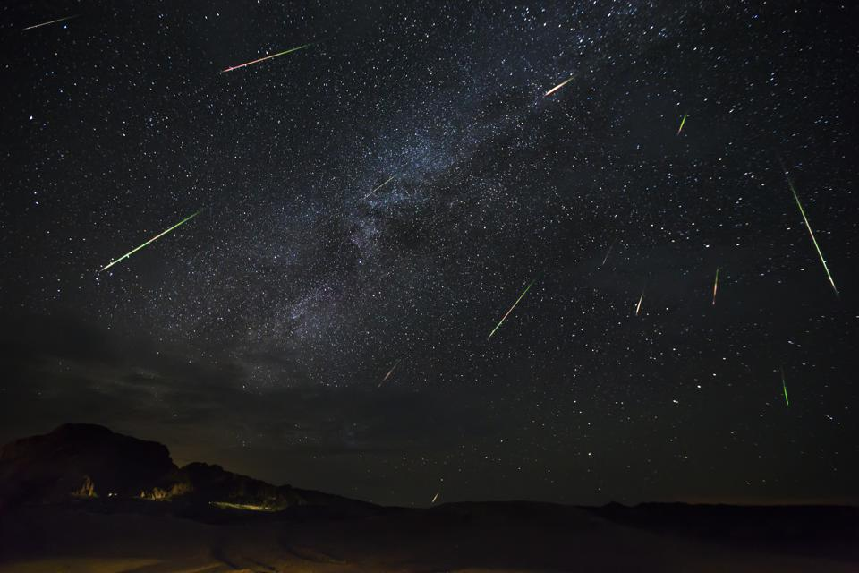 Meteor Shower Stargazing is December 13, 2020