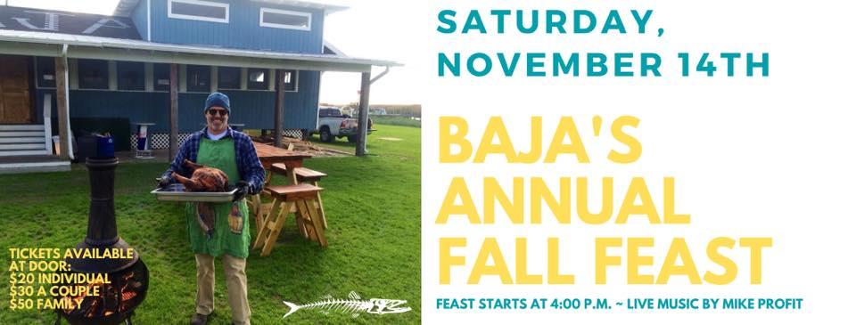 Baja Fall Fest is Saturday, November 14th, 2020