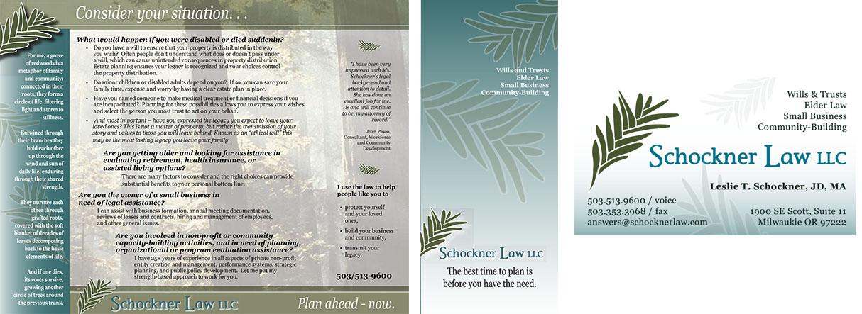 Schockner brochure