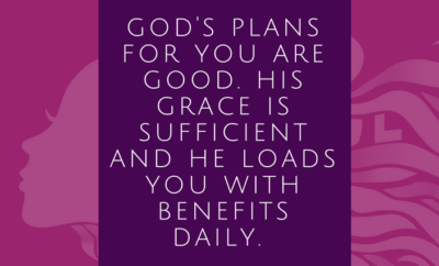 God has a plan for you