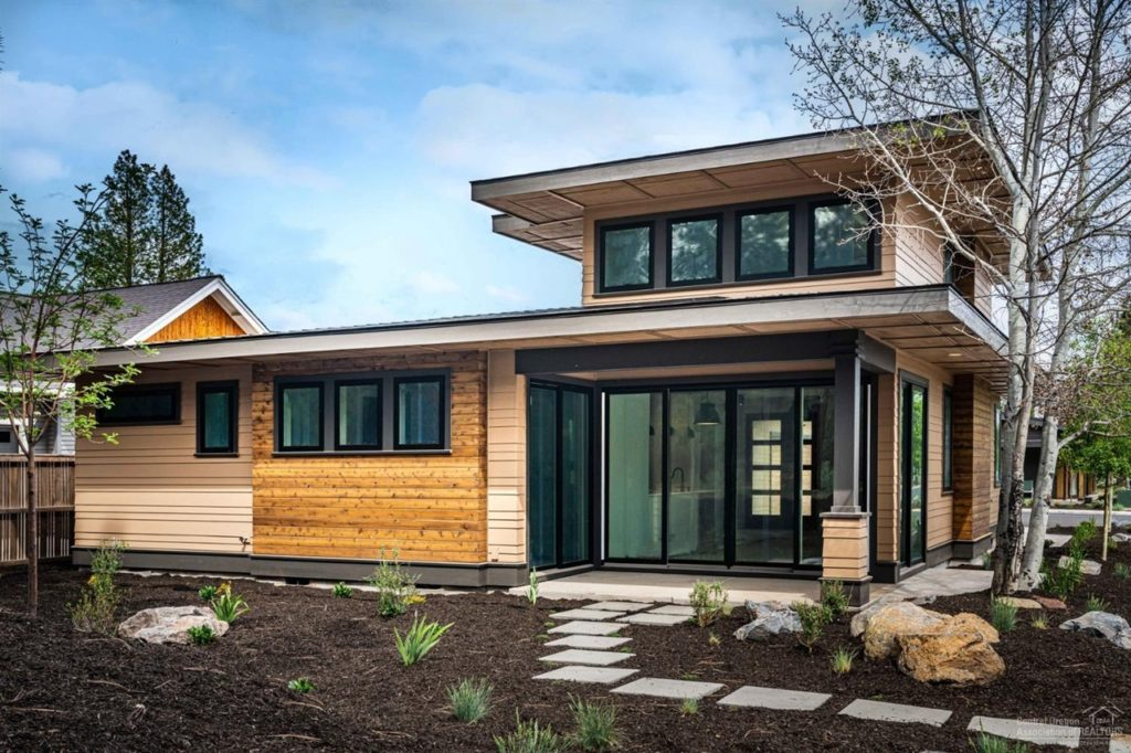 Prairie design with modern style