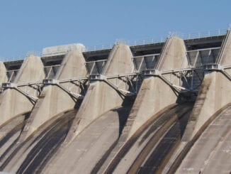 Cherokee Dam Flood Gates