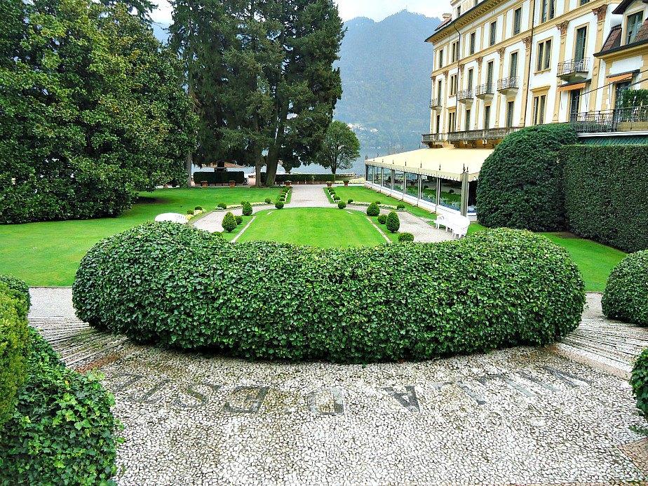 Villa D'Este Gardens Cernobbio Lake Como Italy