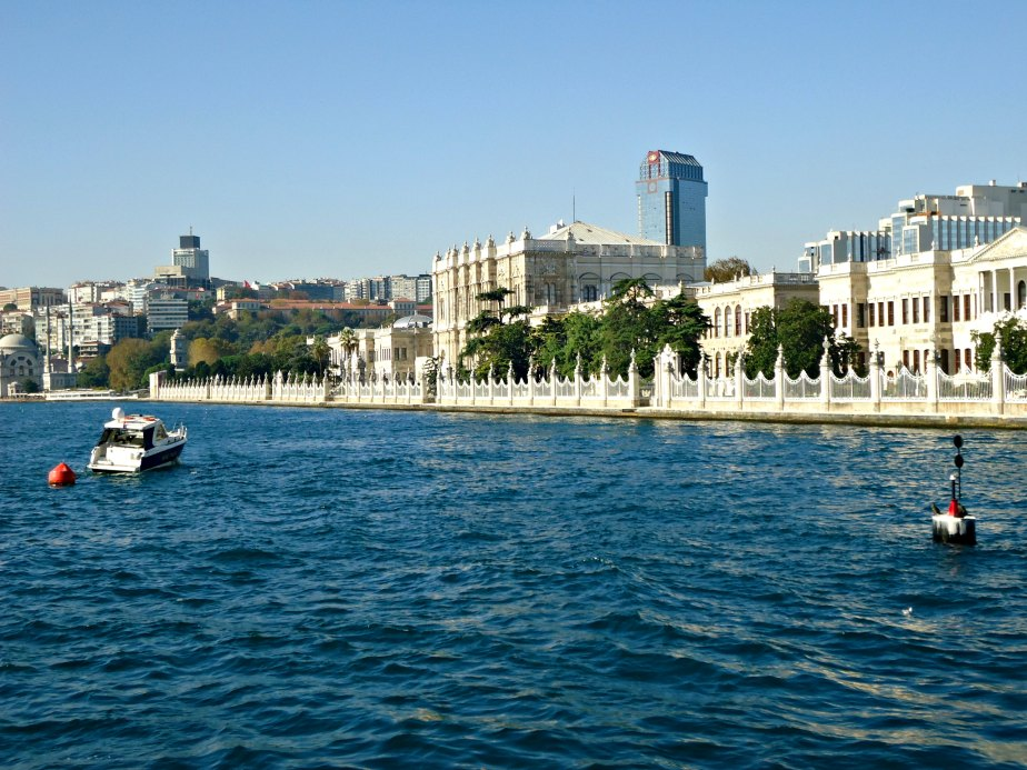 Dolmabahce Palace and Ritz Carlton Hotel