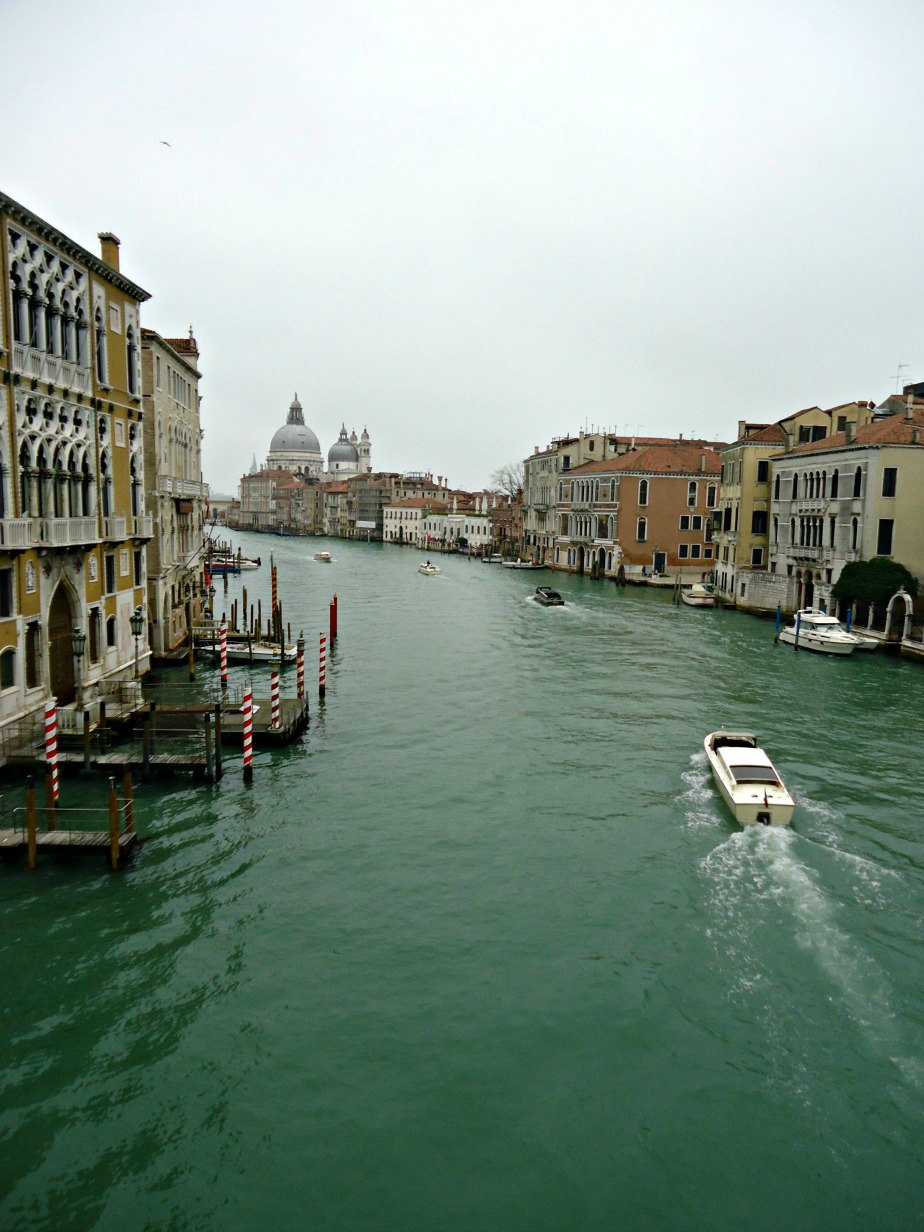 Grand Canal From Academia Bridge in Venice
