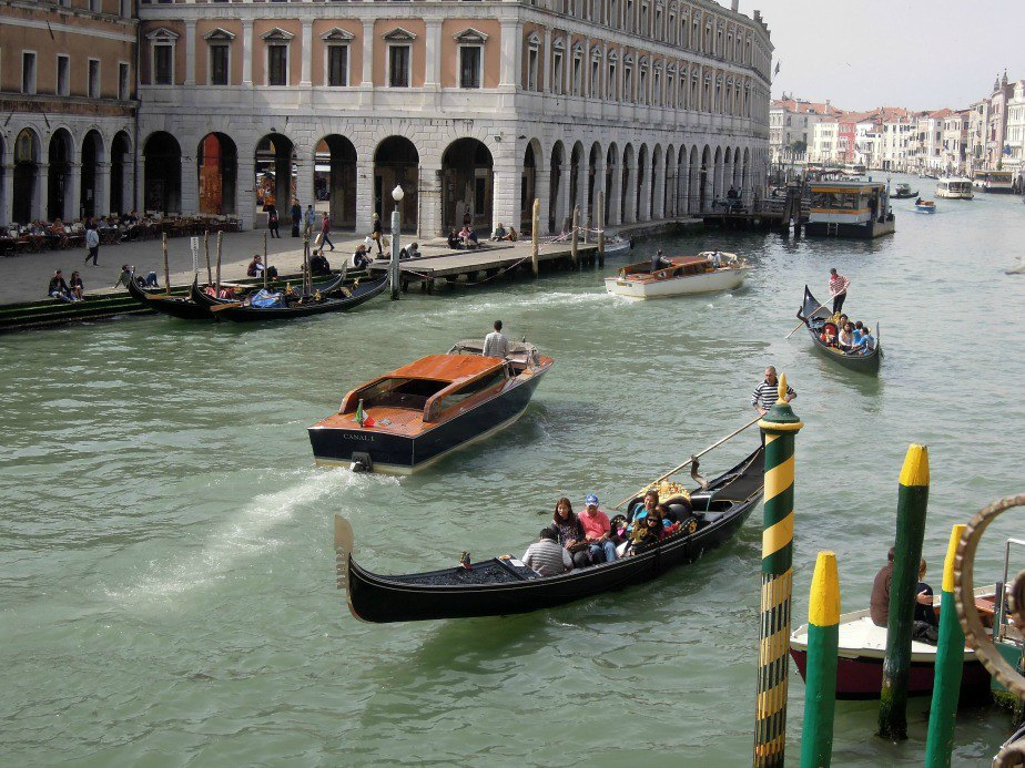The Grand Canal Venice Italy