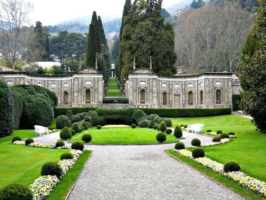 Villa D'Este Marble Garden Cernobbio Lake Como Italy