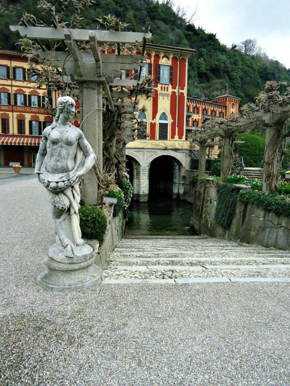 Queens Pavilion at Villa D'Este Cernobbio Lake Como Italy