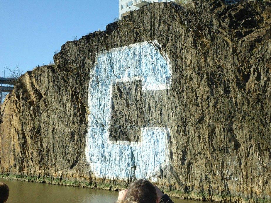 Columbia University Rowing Team Support Rock