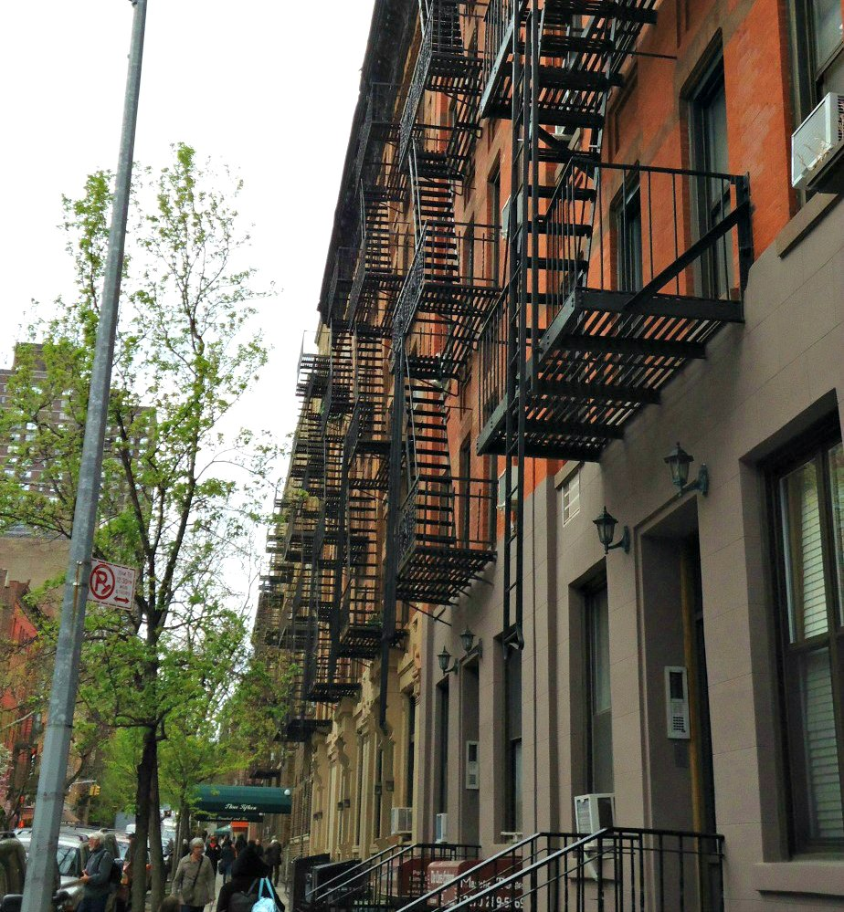 Fire Stairs on East 88th Street