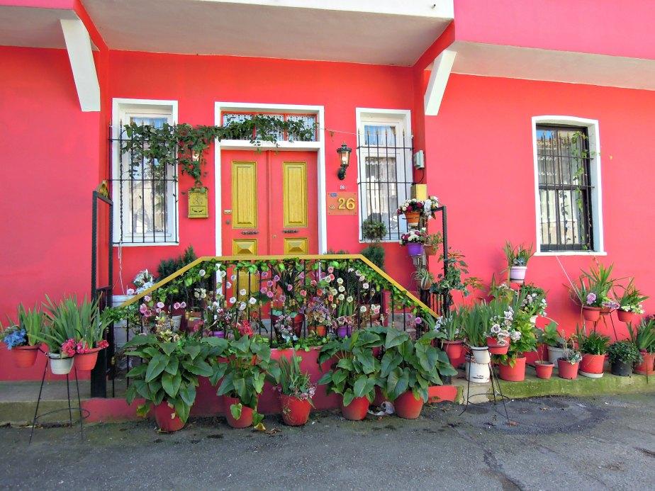 Pink House at Anadolu Kavagi