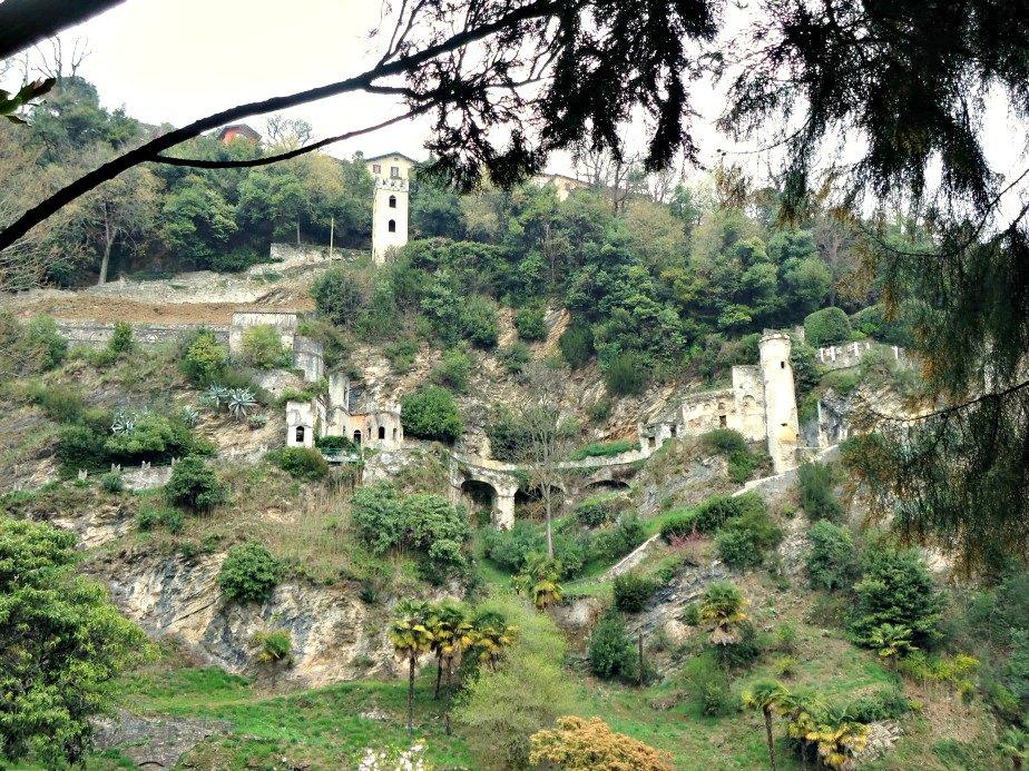 Fortifications at Villa D'Este Cernobbio Lake Como Italy