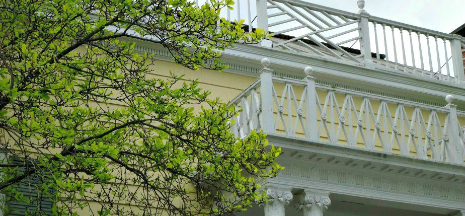Wooden Trimmings at Gracie Mansion