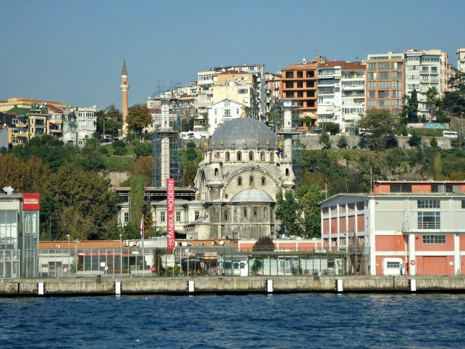 Istanbul Modern Art Gallery and Nusretiye Mosque
