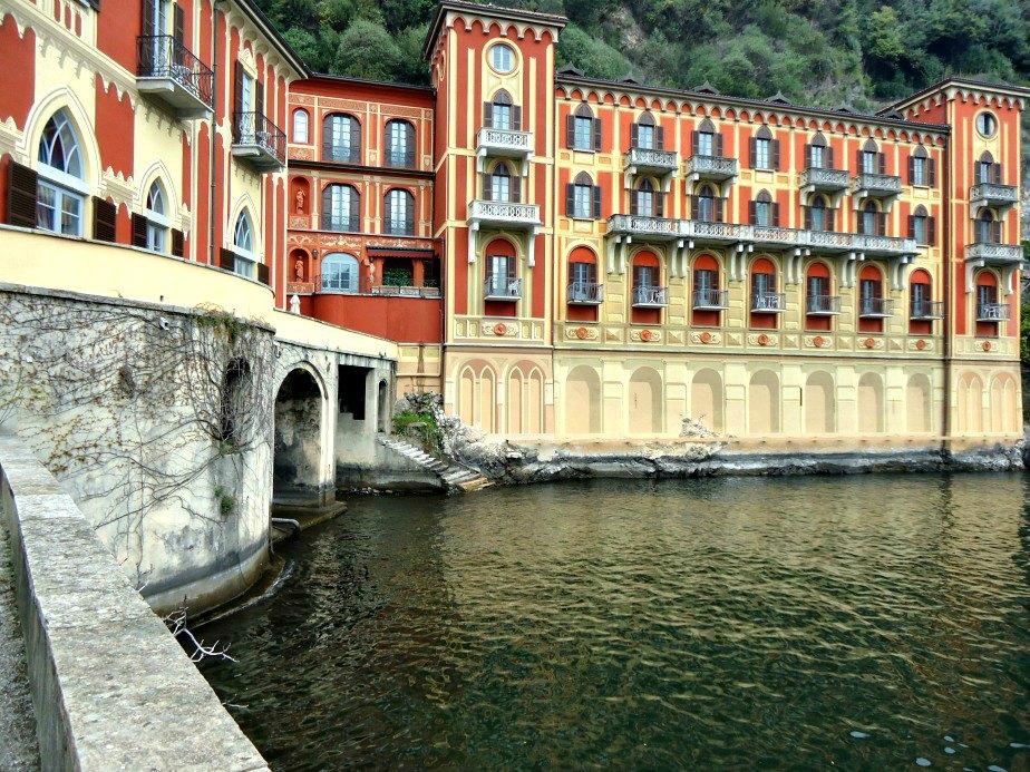 Queens Pavilion Boat Entrance Villa D'EsteCernobbio Lake Como Italy
