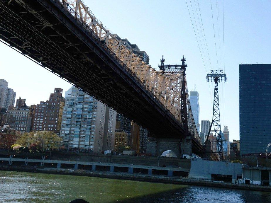 Queensboro Bridge and Cable Car