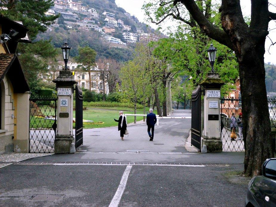 Villa D'Este Gates
