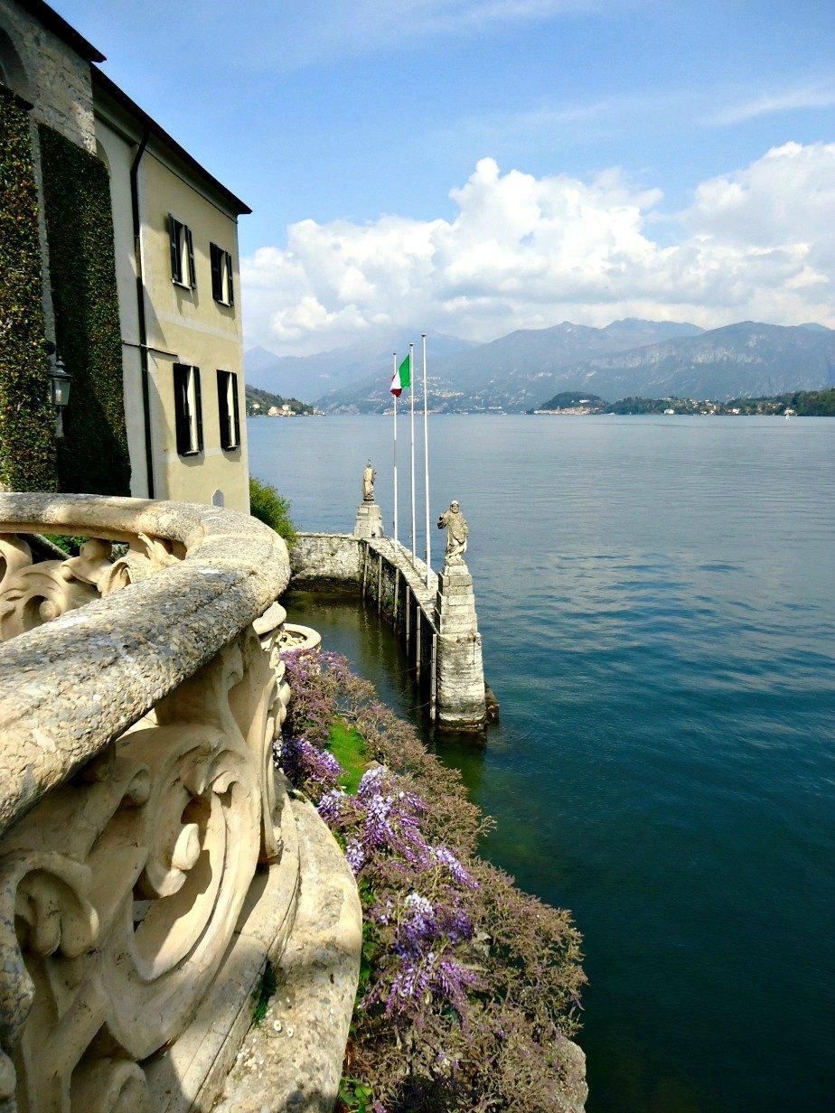 Boat Shelter at Villa del Balbianello Lake Como Italy