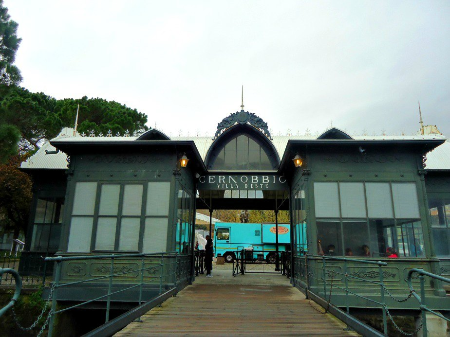 Cernobbio Ferry Stop