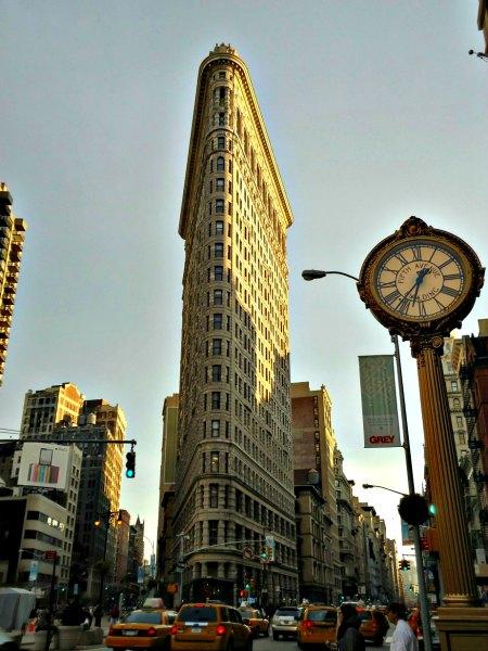 Flat Iron Building New York USA