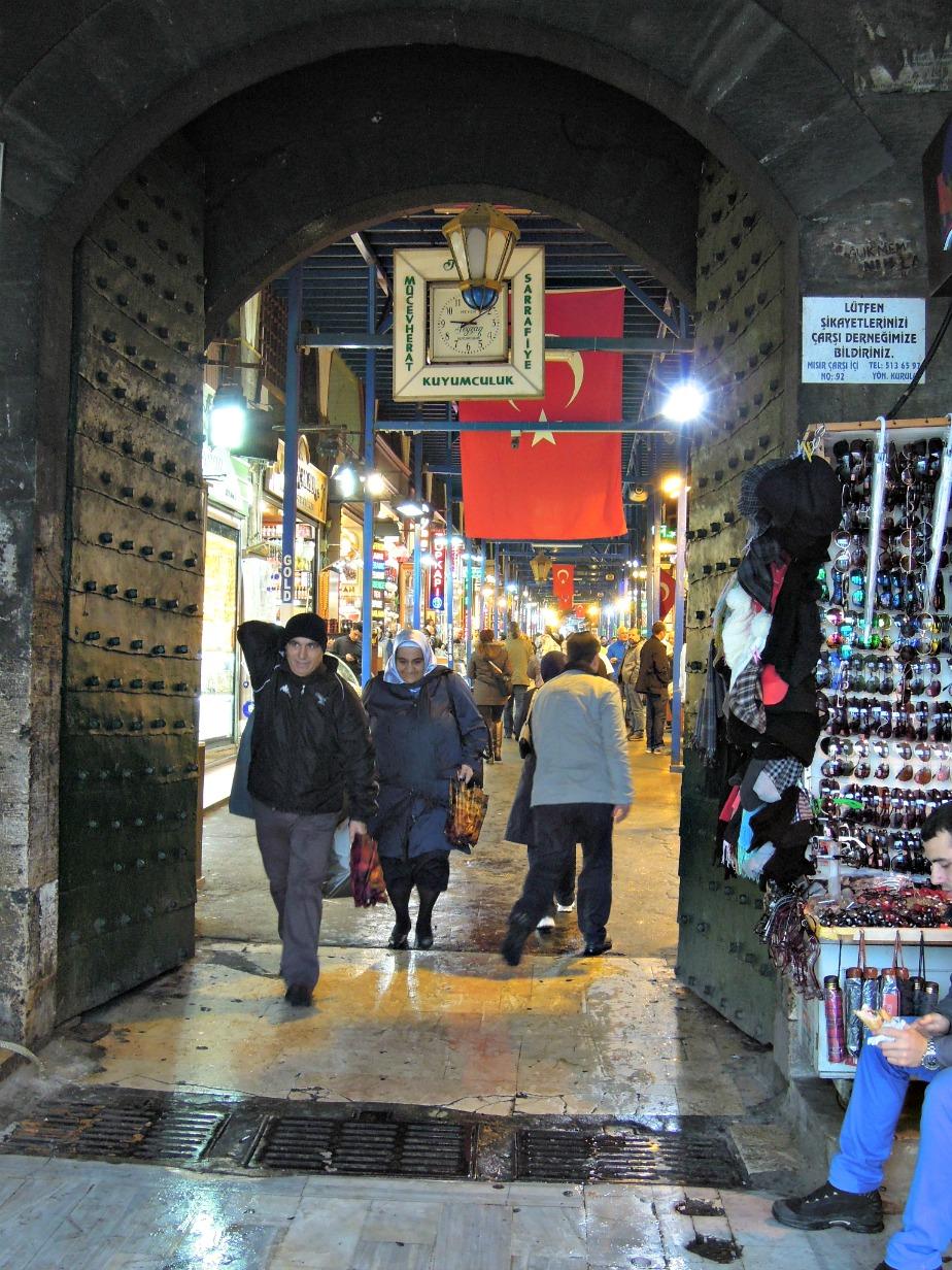 Entrance to Spice Market