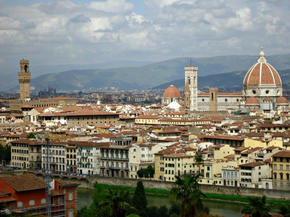 Palazzo Vecchio Tower and the Duomo